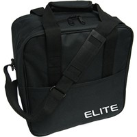 Elite Basic Black Single Tote Bowling Bags