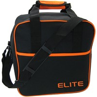 Elite Basic Orange Single Tote Bowling Bags