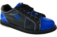Elite Mens Triton Black/Blue Bowling Shoes