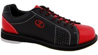 Elite Mens Triton Black/Red Bowling Shoes