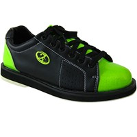 Elite Womens Athena Black/Lime Bowling Shoes