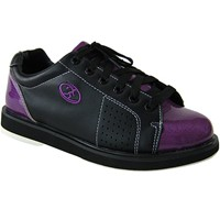 Elite Womens Athena Black/Purple Bowling Shoes