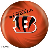 KR Strikeforce Cincinnati Bengals NFL Ball Bowling Balls