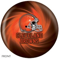 KR Strikeforce Cleveland Browns NFL Ball Bowling Balls