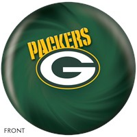 KR Green Bay Packers NFL Ball Bowling Balls
