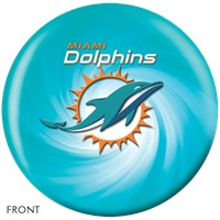 KR Strikeforce Miami Dolphins NFL Ball Bowling Balls