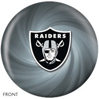 KR Raiders NFL Ball Bowling Balls