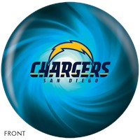 KR San Diego Chargers NFL Ball Bowling Balls