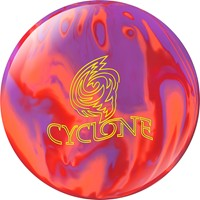 Ebonite Cyclone Purple/Orange/Red Bowling Balls