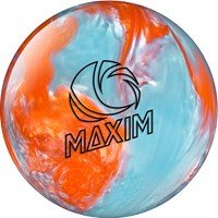 Ebonite Maxim Orange Crystal Bowling Balls