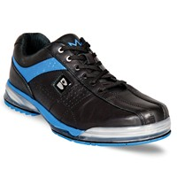 Brunswick Mens TPU X Black/Royal Right Hand Wide Bowling Shoes