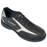 Brunswick Mens Stealth Black/Graphite Left Hand Bowling Shoes