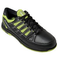 Brunswick Mens Arrow Black/Lime Bowling Shoes