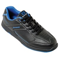 Brunswick Youth Flyer Black/Mag Blue Bowling Shoes