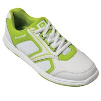 Brunswick Womens Spark White/Lime Bowling Shoes