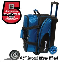 Brunswick Flash C Double Roller Royal Bowling Bags