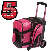 Brunswick Flash C Single Roller Hot Pink Bowling Bags