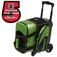 Brunswick Flash C Single Roller Lime Bowling Bags