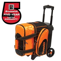 Brunswick Flash C Single Roller Orange Bowling Bags