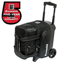 Brunswick Flash C Single Roller Black Bowling Bags
