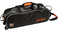 KR Orange KRush Slim Triple Roller/Tote Bowling Bags