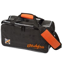 KR Orange KRush Double Tote Bowling Bags