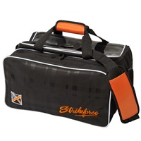 KR Orange KRush Double Tote Plus Bowling Bags