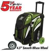 KR Cruiser Smooth Double Roller Lime/White/Black Bowling Bags