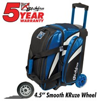KR Cruiser Smooth Double Roller Royal/White/Black Bowling Bags