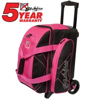 KR Hybrid X Double Roller Pink Bowling Bags