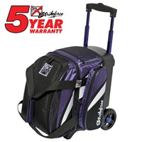 KR Cruiser Single Roller Purple/White/Black Bowling Bags