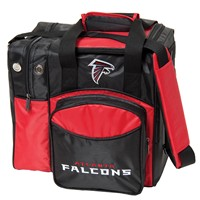 KR Atlanta Falcons NFL Single Tote Bowling Bags