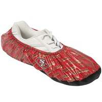 KR NFL San Francisco 49ers Shoe Covers