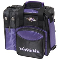 KR Strikeforce Baltimore Ravens NFL Single Tote Bowling Bags
