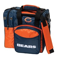 KR Strikeforce Chicago Bears NFL Single Tote Bowling Bags