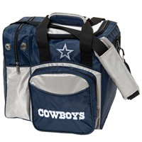 KR Dallas Cowboys NFL Single Tote Bowling Bags
