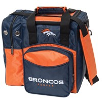 KR Denver Broncos NFL Single Tote Bowling Bags