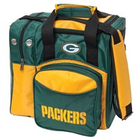 KR Strikeforce Green Bay Packers NFL Single Tote Bowling Bags