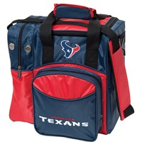 KR Houston Texans NFL Single Tote Bowling Bags