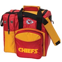 KR Strikeforce Kansas City Chiefs NFL Single Tote Bowling Bags