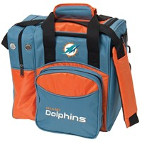 KR Strikeforce Miami Dolphins NFL Single Tote Bowling Bags