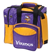 KR Minnesota Vikings NFL Single Tote Bowling Bags