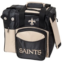 KR New Orleans Saints NFL Single Tote Bowling Bags