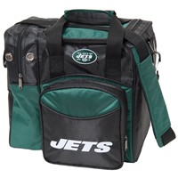 KR New York Jets NFL Single Tote Bowling Bags