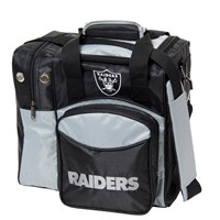 KR Oakland Raiders NFL Single Tote Bowling Bags