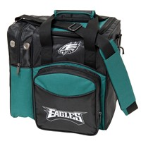 KR Strikeforce Philadelphia Eagles NFL Single Tote Bowling Bags