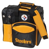 KR Pittsburgh Steelers NFL Single Tote Bowling Bags
