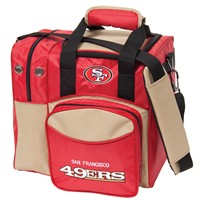 KR San Francisco 49ers NFL Single Tote Bowling Bags