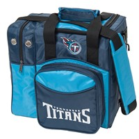 KR Tennessee Titans NFL Single Tote Bowling Bags