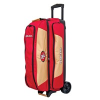 KR Strikeforce NFL Triple Roller San Francisco 49ers Bowling Bags